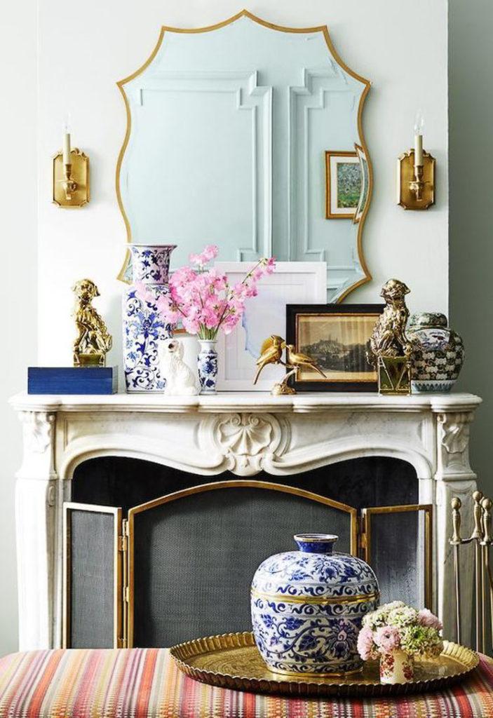 beautiful ornate open fireplace ideas