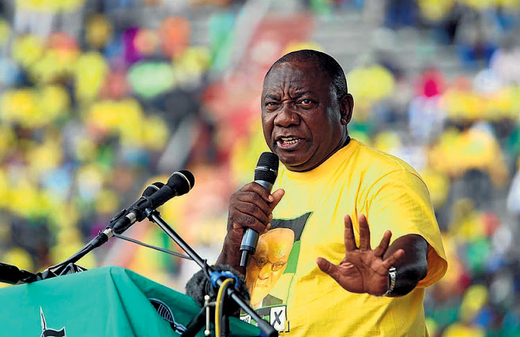 ANC deputy president Cyril Ramaphosa. Picture: ANTONIO MUCHAVE