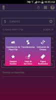 Screenshot of Banca Móvil Banco Hipotecario
