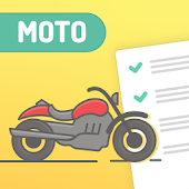 Motorcycle Permit Test US - License knowledge test