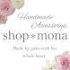 かわいいピアス・ハンドメイドアクセサリー shop*mona
