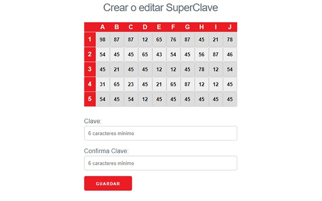 Santander SuperClave