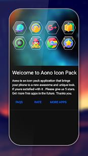 Aono - Icon Pack Screenshot