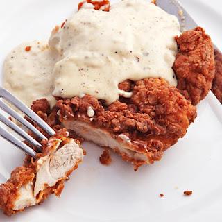 Chicken-Fried Chicken with Cream Gravy Recipe