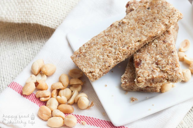 Nutty No-Bake Protein Bars Recipe
