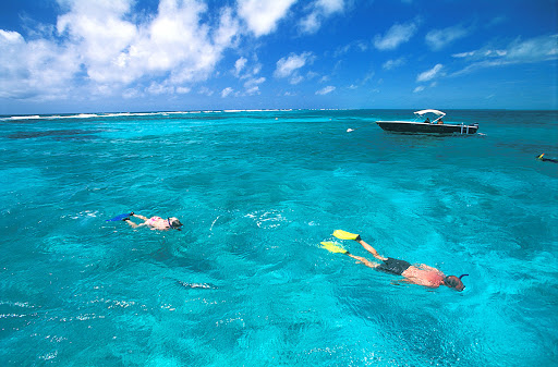 Belize offers some of the clearest waters in the world for snorkelers.