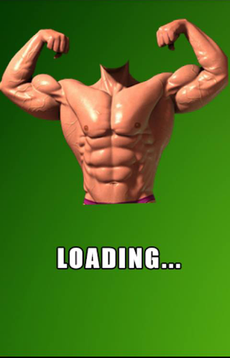 Bodybuilding face changer
