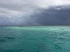 Top. Dive Sites, Kri Island, Raja Ampat, Papua. Stormy weather over Manta Sandy