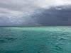 Top. Dive Sites, Kri Island, Raja Ampat, Papua. Stormy weather over Manta Sandy