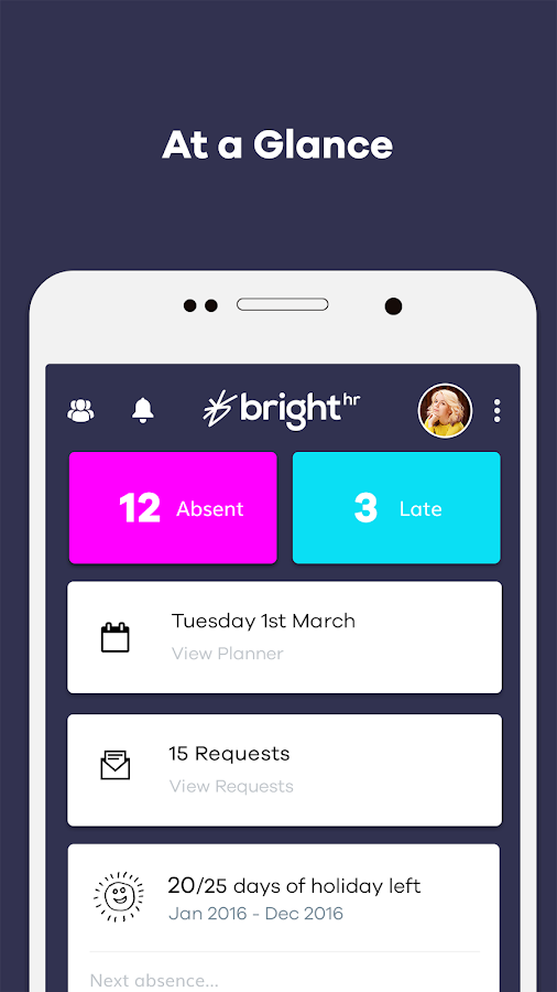 BrightHR- screenshot