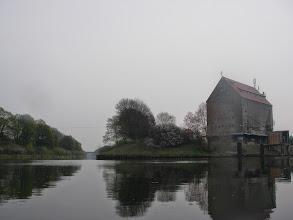 Photo: w lewo kanał w prawo coś jakby port
