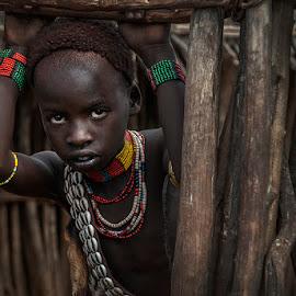 by Damjan Voglar - Babies & Children Child Portraits ( ethnic, tribe, travel, portraits )