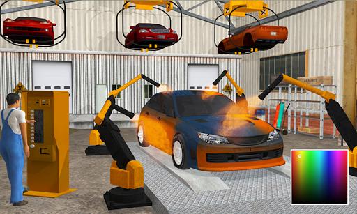 Gas Station & Car Service Mechanic Tow Truck Games screenshots 1