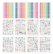 Simple Stories Carpe Diem A5 Planner Sticker Tablet - Calendar