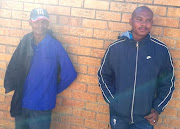 Akhona Goniwe and Simon Matobese say crime in De Doorns has become a threat to residents as well as visitors.