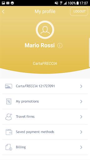 Trenitalia screenshot 3