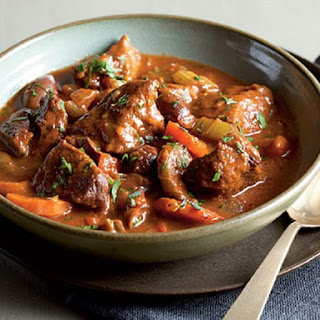 Crock Pot Easy Herby Beef Stew.