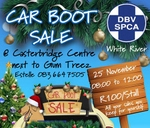 CAR BOOT SALE : White River SPCA