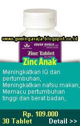zinc anak