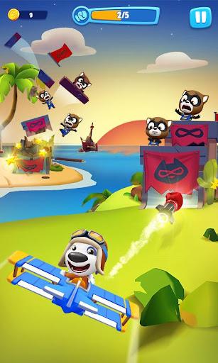 Talking Tom Sky Run: The Fun New Flying Game apktram screenshots 2