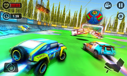 Rocket Car Soccer League: Car Wars 2018  screenshots 2
