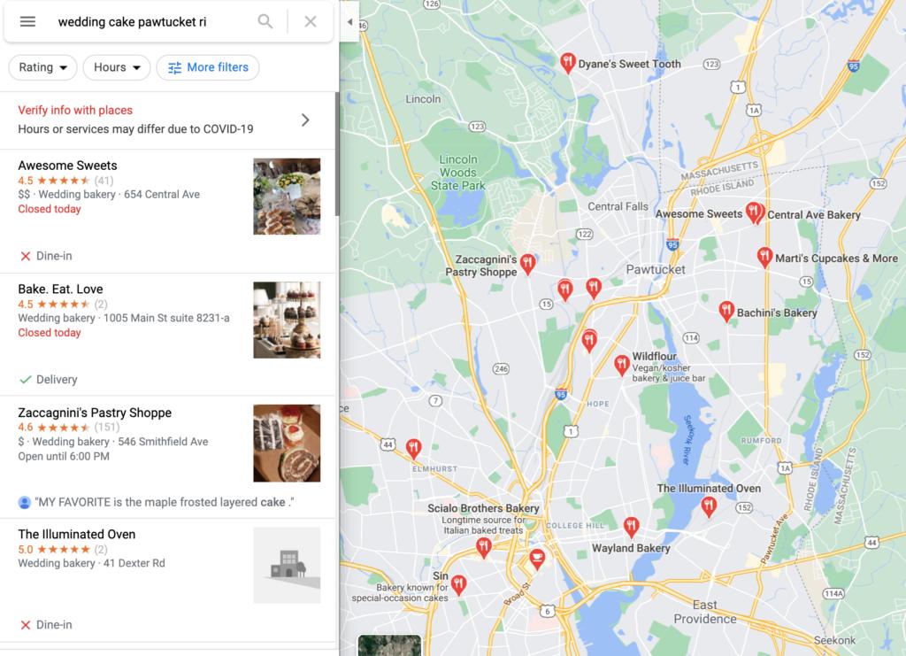 Chiến lược tiếp thị cho các doanh nghiệp nhỏ - Danh sách Google Doanh nghiệp của tôi của bạn cung cấp thông tin hiển thị trên Google Maps.