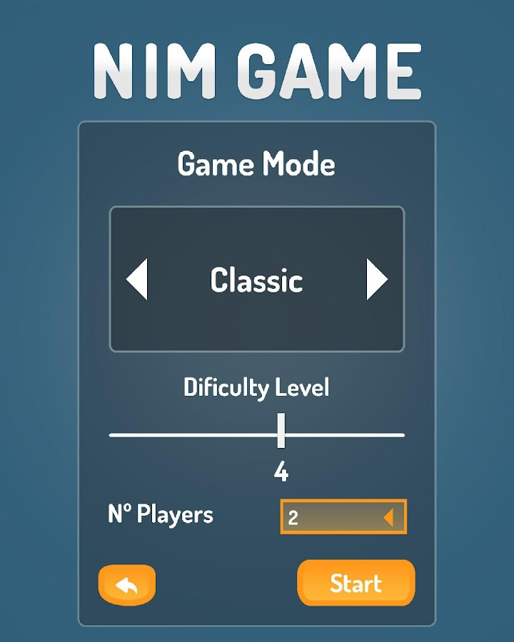 NIM Game- screenshot