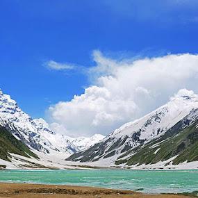 Lake Saif AL Malook Pakistan by Zeeshan Khan - Landscapes Mountains & Hills