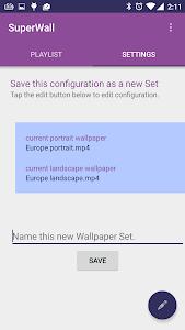 SuperWall Video Live Wallpaper v2.3.0.1