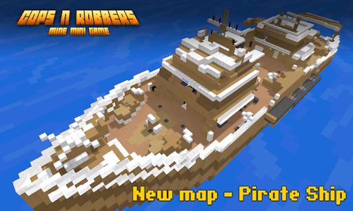Cops N Robbers: Pixel Prison Games 1 screenshots 2