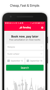 ‫fendeq.com فندق.كوم‬‎- screenshot thumbnail