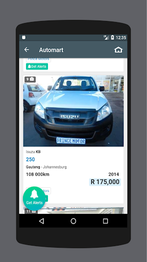 used cars south africa screenshot 2