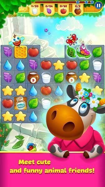 Farm Charm – Match 3 Blast King Games v1.7.2 [Mod]