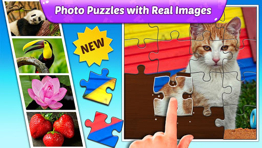 Puzzle Kids - Animals Shapes and Jigsaw Puzzles screenshots 2