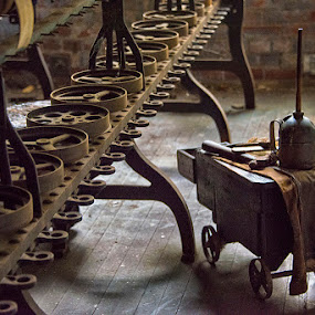 Cart by John Goff - Products & Objects Industrial Objects ( llonaconing, maryland, lonaconing silk milllonaconing )