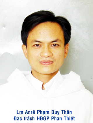 Giới thiệu tân đặc trách HĐGDĐM.GP Phan Thiết