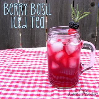 Berry Basil Iced Tea.