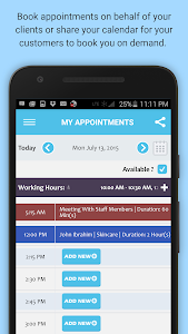 Appointment & Schedule Manager screenshot 0
