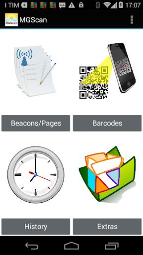 MGScan - Beacons and Barcodes