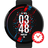 Dynamic Color watchface by Lucas Philipp