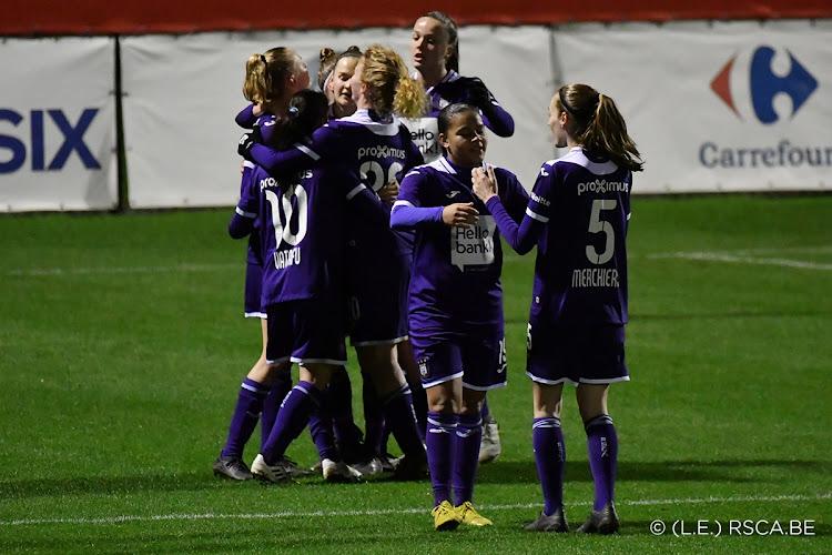 OFFICIEEL: Champions League voor Anderlecht dames uitgesteld!