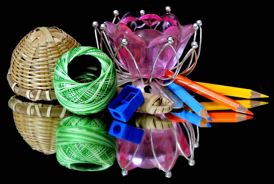 COLOURFUL OBJECTS by SANGEETA MENA  - Artistic Objects Other Objects
