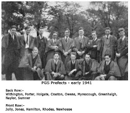 Photo: PGS Prefects - early 1941