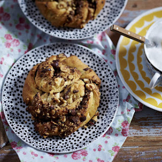 Chocolate, Hazelnut and Cinnamon Buns