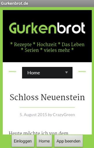 Gurkenbrot.de