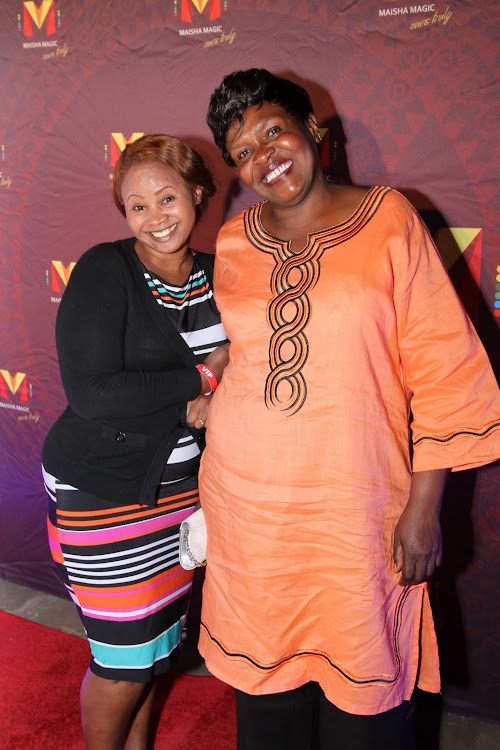 Vitimbi Actresses Nyasuguta with Mama Kayai