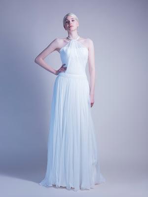 Robe de mariée en soie Béatrice créatrice Paris