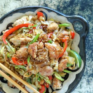 Keto Crispy Pork & Noodle Stir Fry – Low Carb Recipe