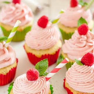 Gluten Free Raspberry Lime Mojito Cupcake Frosting