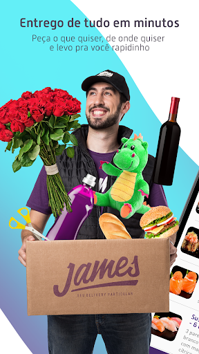 James Delivery: Comida, Mercado, Farmácia e mais 1.8.6 screenshots 1